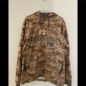 Men's Camo Boston Red Sox Sweatshirt
